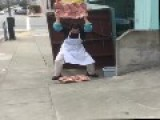 San Francisco Sidewalk Steak
