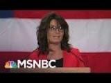 Sarah Palin's Donald Trump Speech: 'Worse Than A Train Wreck' | Morning Joe | MSNBC