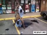 Street Fight Ends With Some Nasty Kicks In The Head
