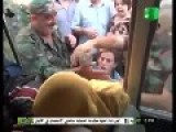 Syrian Citizens Beating The Shit Out Of Terrorists On A Bus