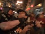 San Francisco Protestors Distrepect Police Officers