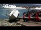 Sailboat Boat Ramp Disaster