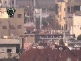 Syrian Sunni Arab Citizen Soldiers Bring A Regime 57mm Gun Position Under Fire: Damascus Feb 19th, '14
