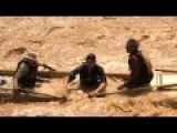 Shooting The Grand Canyon Rapids In Ancient Boats
