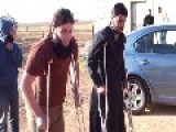 Syria : Fsa Rebels Having Some Fun !!