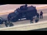 SWAT Team Rescues Hostages On California Freeway Ramp