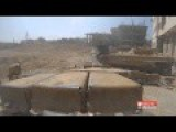 Syrian Army T72 Tank Fires His Canon A Bit Too Close To Friendly BMP