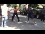 STREET FIGHT - MUAY THAI HEAD KICK