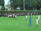 Schoolboy Rugby Players Showing Americans How It's Done