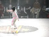 Six Year Old B-Girl Steals The Show At Breakdance Contest