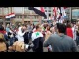 Syria - Frankfurt, Syrian Community Supporting Their Homeland 13-09-2014