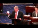 Senator Tosses Snowball In Senate To Prove Global Warming Is A Myth