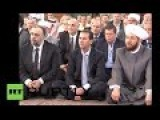 Syria: President Al-Assad Observes Eid Al-Fitr Prayers In Homs