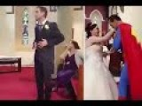 Superman Saves Wedding Ceremony After Best Man Forgets Rings