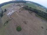 Skydiver Grabs Beer While Landing
