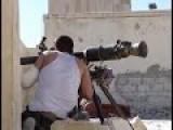 SPG-9 Gunner Hit By Tank