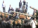 Syrian Sunni Arab Citizen Soldiers Display Their Recently Liberated Tanks And BMPs: Dara'a Governorate Nov 2nd, '13