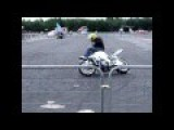 Stunt Rider Stacks It In Front Of The Spectators And Is Embarassed *HD*