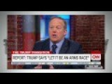 Sean Spicer SCRAMBLES To Explain Trump's Stupid Tweet About Nukes - Let It Be An ARMS RACE