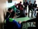 Students Having Fun In School Bosnian Way