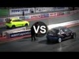 Seat Ibiza Diesel XX Vs Mini John Cooper Works Drag Race