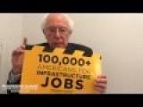 Sen. Sanders: Thanks For 100K+ Supporting Infrastructure Jobs