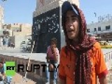 Syria: America, We Are Not Afraid! Raqqa Residents Fume At US Airstrikes
