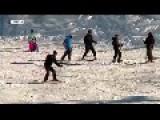 Skiing 'season' Begins At Israel's Ski Resort, 3 Km From The Syrian Civil War