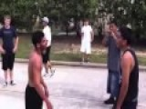 Street Fight Mexican Vs Americans Bare-knuckle Boxing 2013