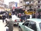 Syrian's In Lebanon In Support Of Their President And The Armed Forces