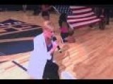 Singer Takes Knee While Performing National Anthem Before Sacramento Kings Game