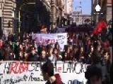 Students In Italy Protest Renzi's 'Good School' Reform