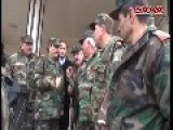 SAA Defense Minister Visit The Frontlines In Daraa Governorate - Syria