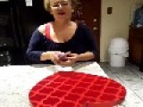 Son Surprises Mom With A Box Of Chocolates
