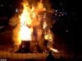 Sweden's Burning Christmas Goat