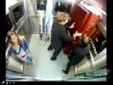 Scary Elevator Corpse Prank In Brazil!