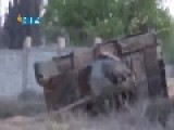 Syria - Snackbarians Show Two Destroyed SAA Tanks 12 04