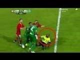 Soccer Player Gets Red Card - Goes Berserk