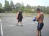STREET BOXING, Fat VS Thin, Knockout
