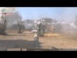Syria - ANNA News. Flank Strike 8.1 Fire! Fire!