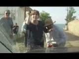 Stupid People Stupid Action On Road