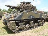 Sherman M4A2 At Tankfest 2008