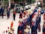 Spain's King Felipe Presides Over National Day Parade