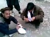Stupid Taliban Breaking Youths Cell Phone