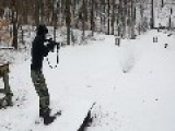 Slow Mo Photography Of M4 Rifle