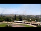Suburbs Of City Gorlovka Under Shelling 21 July 2014