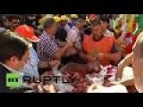 Spain: Free Fruit! Russia's Sanctions Lead To Huge Giveaways Of Surplus