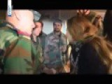 Syrian Actress Visits SAA Soldiers In The Frontline