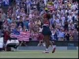 Serena Williams Crip Walking After Winning The Gold - 2012