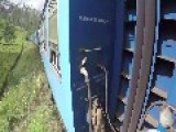 Spanish Filmmaker Climbs Atop Moving Train